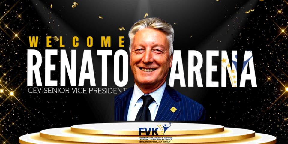 Vice President of the European Volleyball Federation visits Kosovo