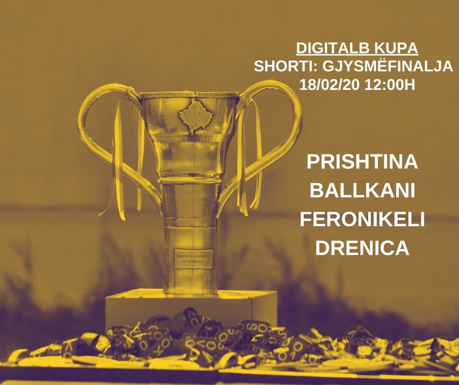 Kosovo cup semi-final draw to be held today