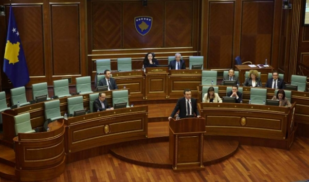 Assembly votes to oust Kurti's government