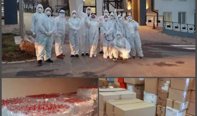 7,000 more tests to identify the COVID-19 virus arrive in Kosovo