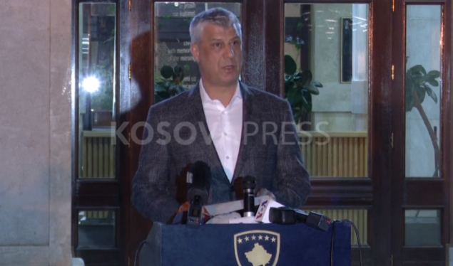 Thaçi: The state of emergency will last for 30 days or more