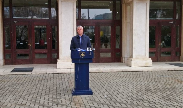 Thaçi addresses the Constitutional Court for the decision of the Government to restrict the movement of citizens