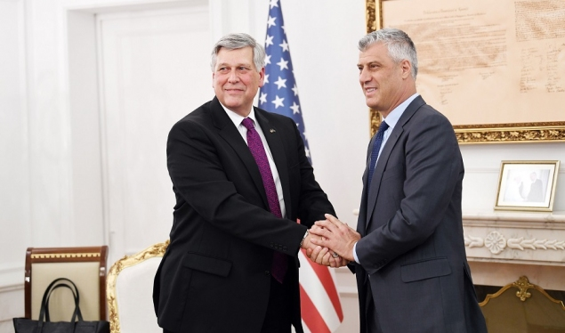 Thaçi and Kosnett talk about further procedures for forming a new government
