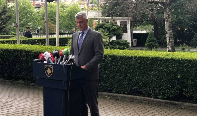 Thaçi welcomes the decision of the Constitutional Court, demands that the new government to be formed as soon as possible