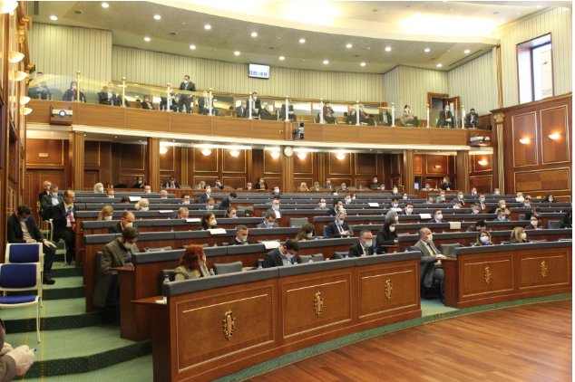 The session of the Assembly starts, VV participates