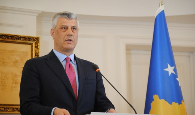 Thaçi will oppose any measure that impedes the dialogue