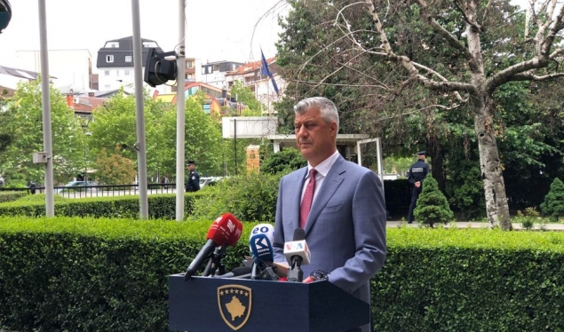 Thaçi expects from Hoti to form the Government as soon as possible