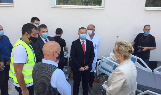 EU donates 6,000 test kits and other equipments worth 800,000 euros to the NIPHK