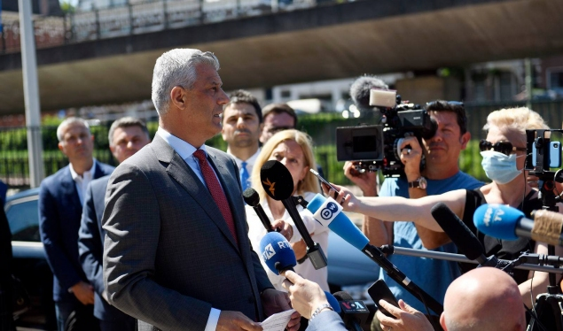 The third day of President Thaçi's interview in The Hague