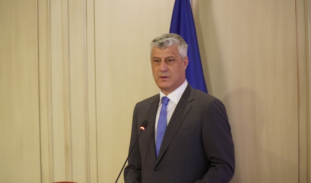Thaçi welcomes the announced meeting at the White House