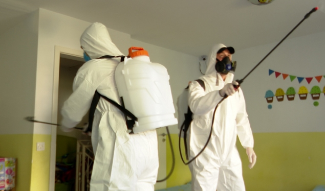 Bank for Business disinfects the premises of 50 small businesses