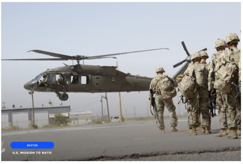 New US soldiers will join NATO in Kosovo