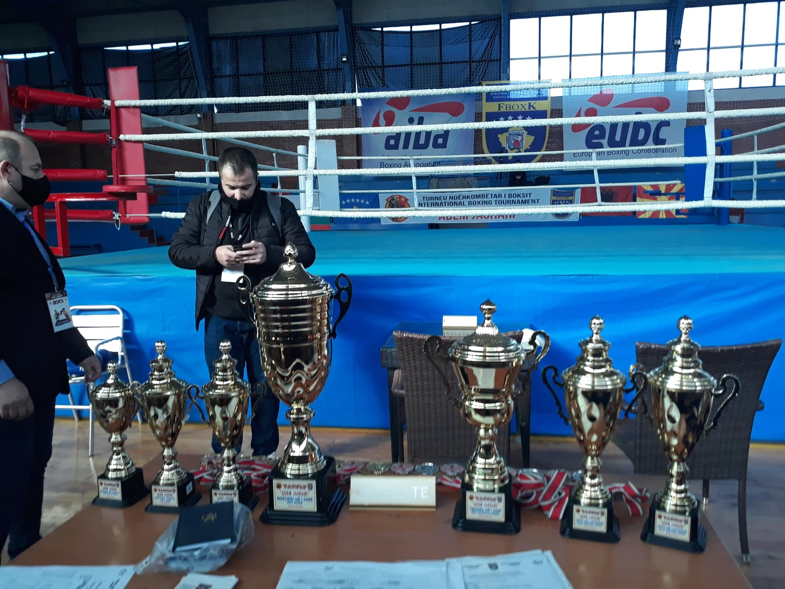 The second day of the boxing tournament begins