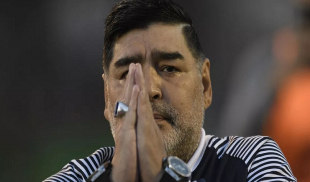 World football legend Diego Armando Maradona has died