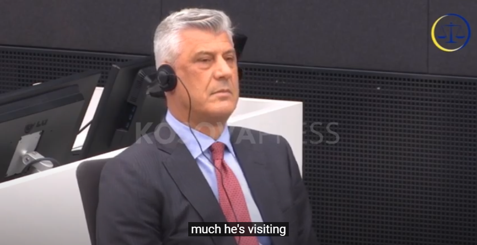 ​Thaçi pleads not guilty
