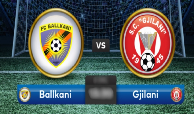 Ballkani-Gjilan, the only match for today in the Kosovo Super League