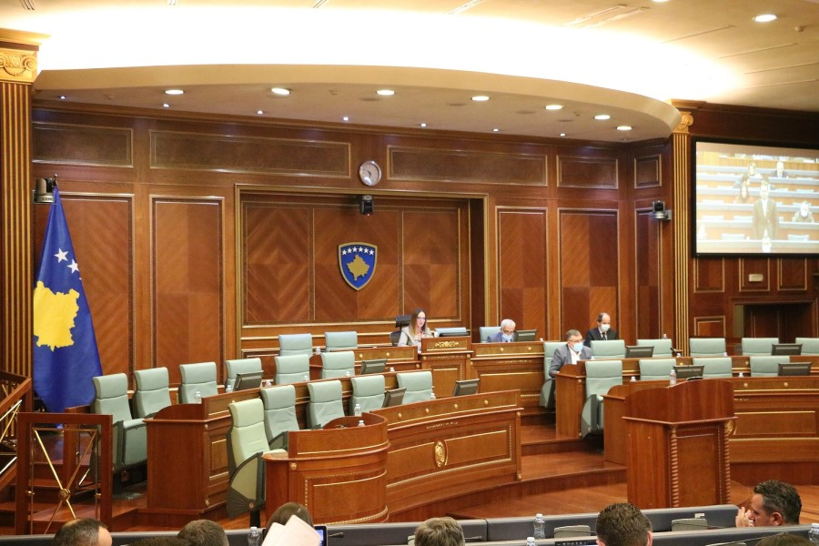 The Assembly approved in principle the budget for 2021