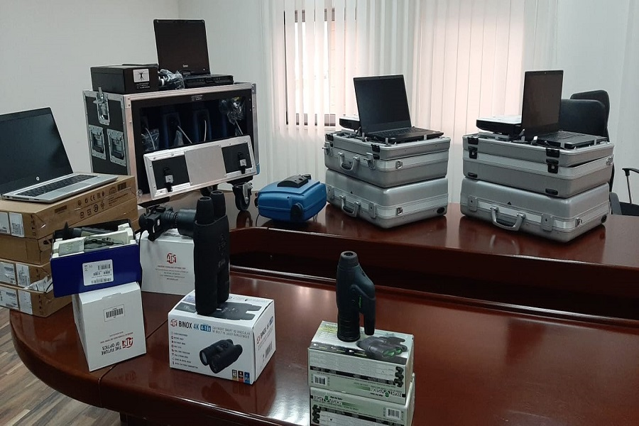 ​The German Embassy donates equipment worth over 240 thousand euros to the Kosovo Police