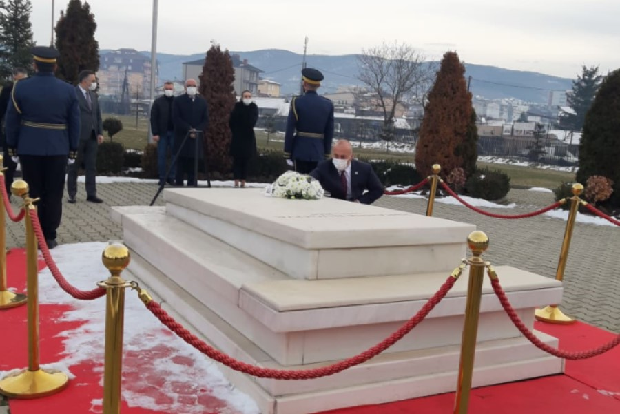 Haradinaj: We will always be grateful to Rugova for his contribution to freedom and independence