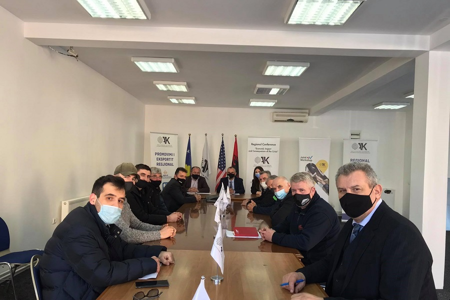 The CDBK held a joint meeting with businesses and the ICMM