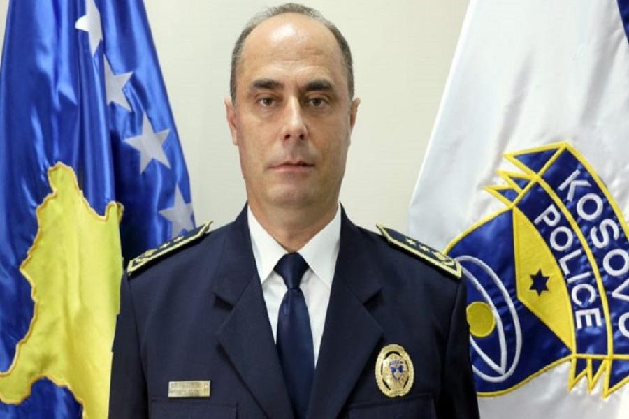 Samedin Mehmeti has been appointed General Director of the Kosovo Police