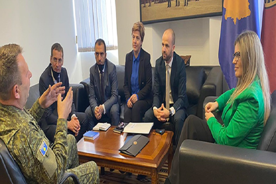 Kosovo Cadastral Agency signs a cooperation agreement with the Ministry of Defense