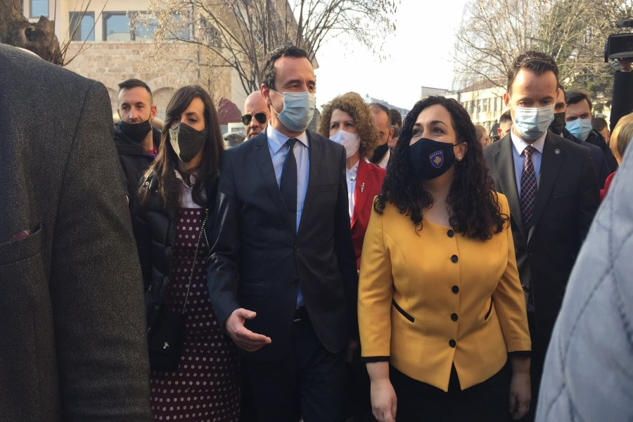 Kurti and Osmani launch the election campaign in Peja