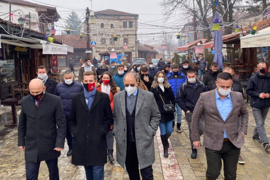 VV launches the campaign in Gjakova with visits to artisans