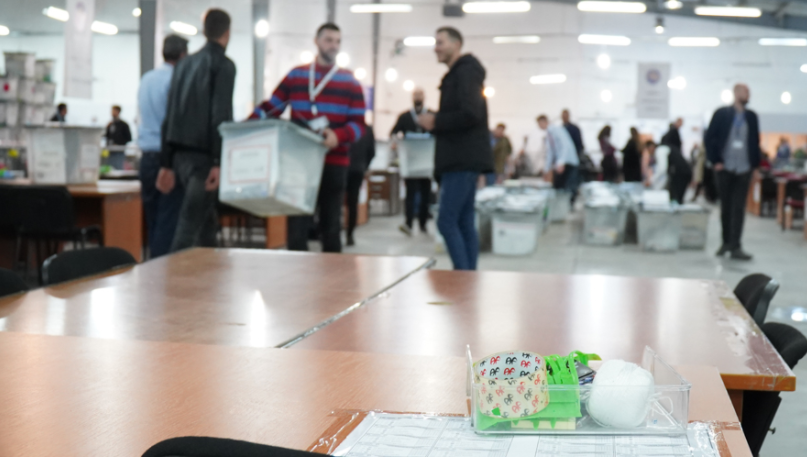 434 out of 552 polling stations are recounted, the process is expected to be completed today