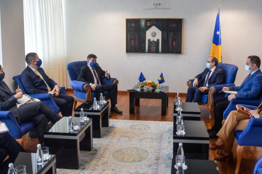 Hoti thanks Lajcak for mediation in the dialogue: Wishes him success in finalizing the process
