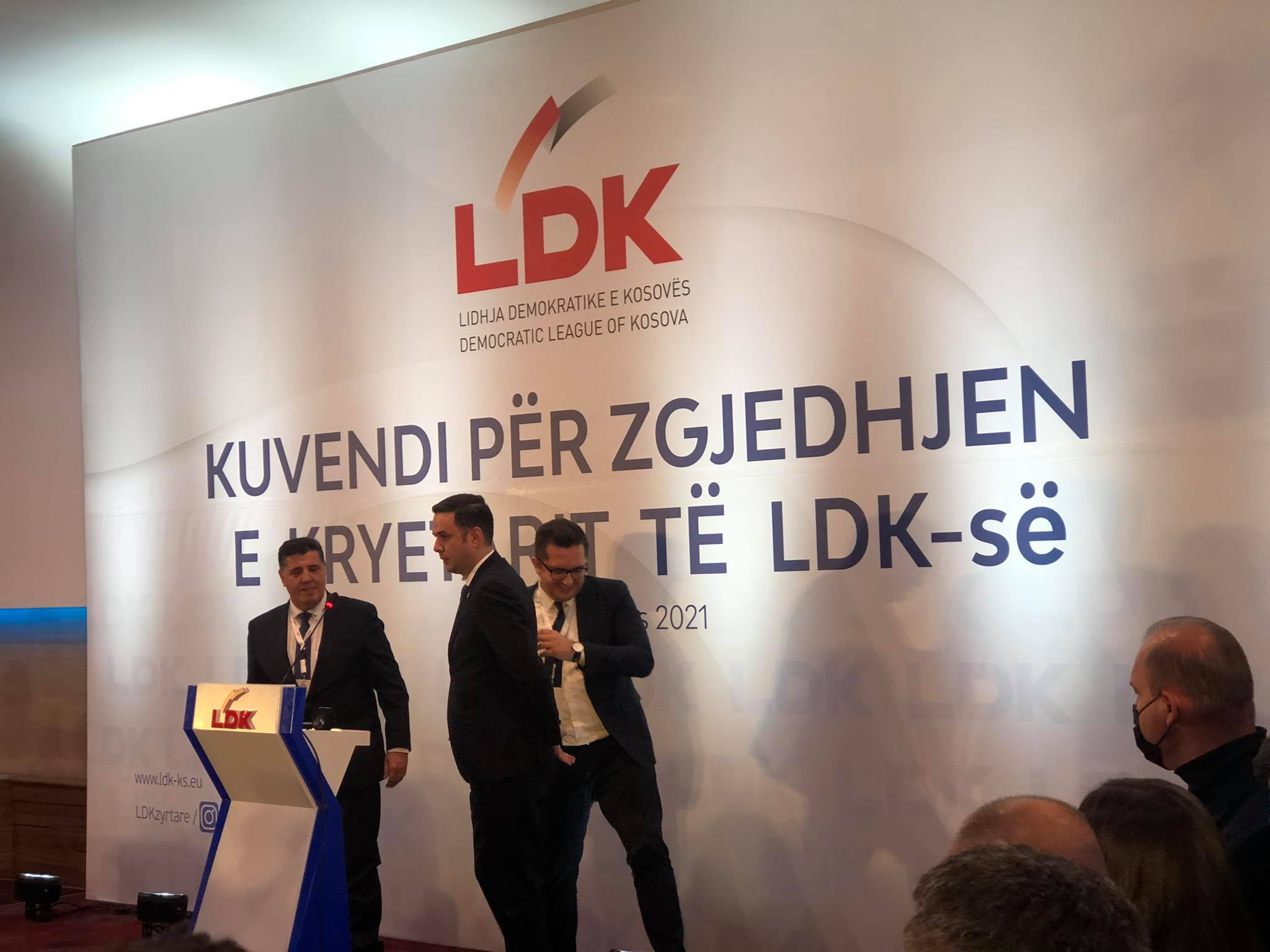 Haziri and Mustafa say they will be united in the LDK