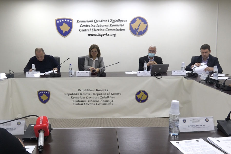 The CEC approves 13 recommendations for the replacement of members of the Assembly of Kosovo