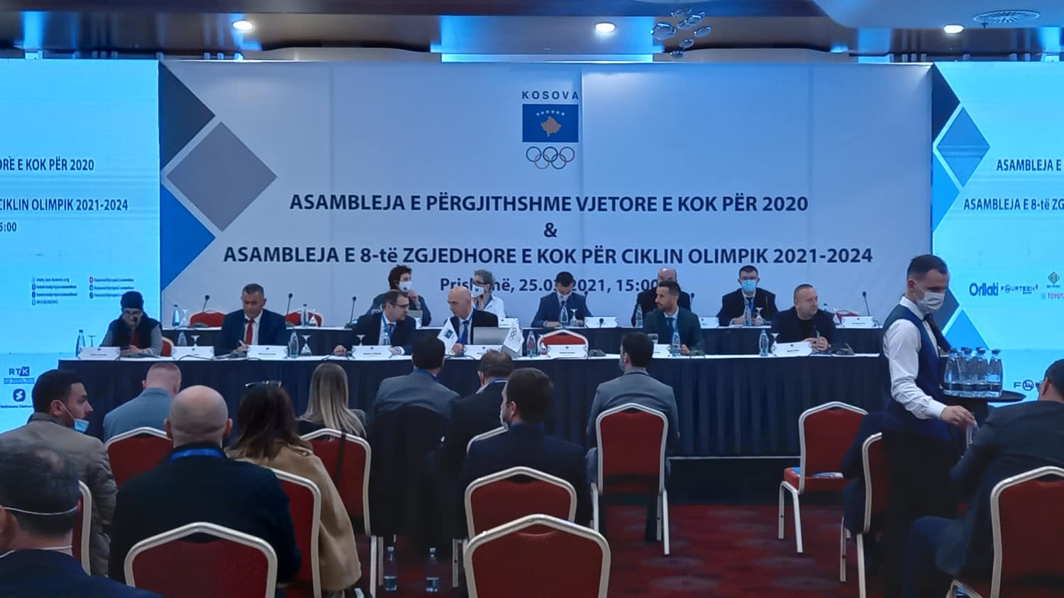 The Electoral Assembly of the Kosovo Olympic Committee begins