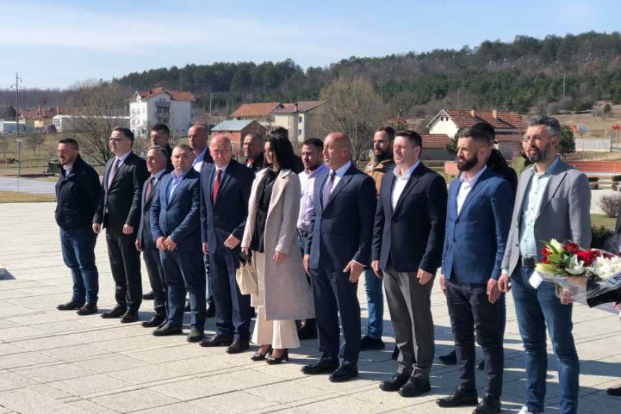 Haradinaj: Walking the paths of the Jashari family we achieve complete freedom and we strengthen Kosovo