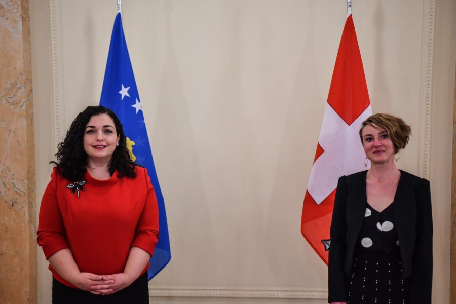 Osmani meets with Vice President of the Swiss National Council: Kälin clearly expressed the support for Kosovo