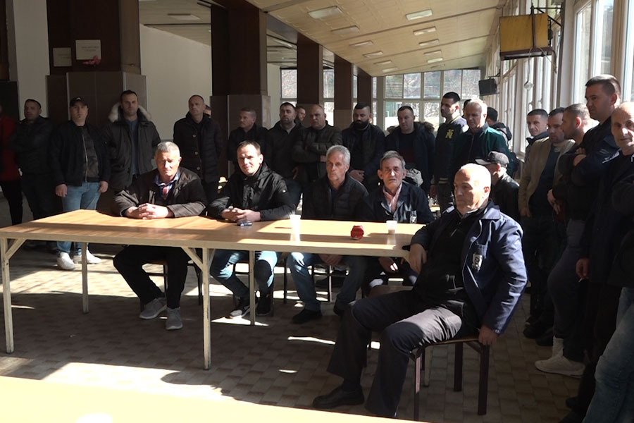 ​Trepça miners on strike again after not receiving salaries: We are tired, we will go to Prishtina on foot