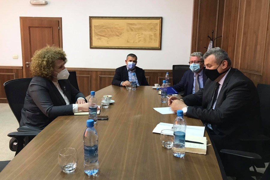 The CDBK presents the problems of businesses to Minister Hajdari