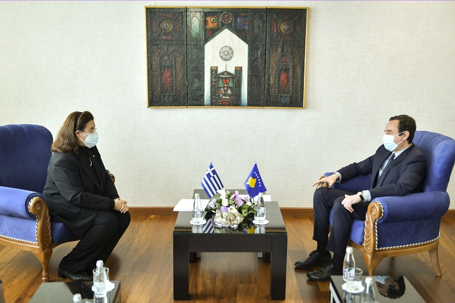 Kurti demands the recognition of Kosovo by Greece