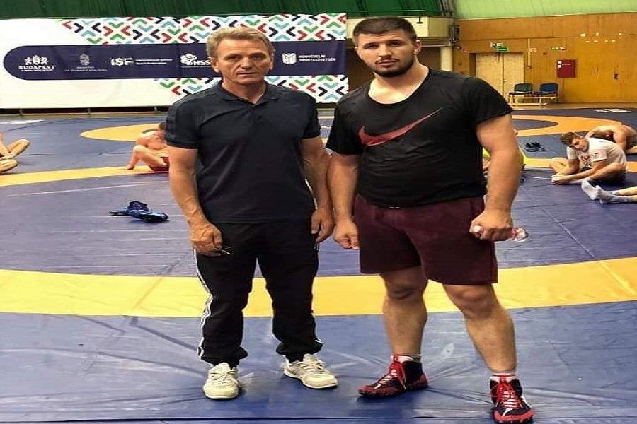 Egzon Shala represents Kosovo at the European Wrestling Championships in Warsaw