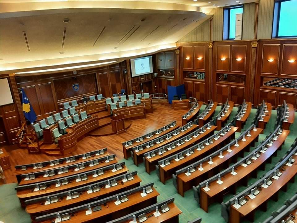 The session for the election of the president ends