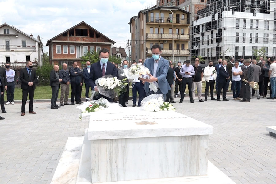 Konjufca and Kurti honor Agron Rrahmani: All his life he was committed to the liberation of the country