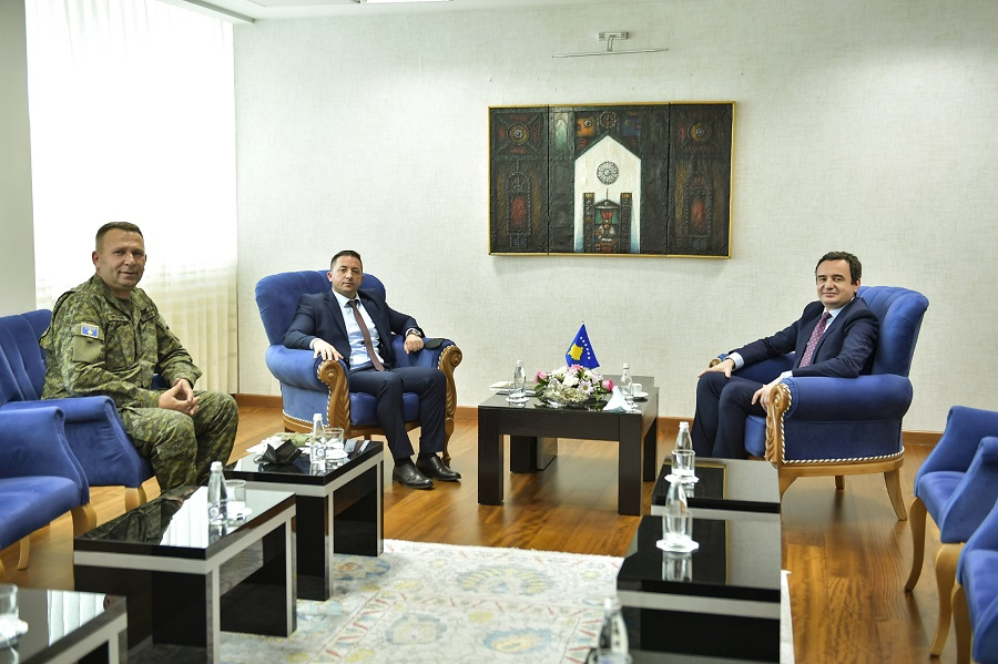 Kurti: Increasing the budget for the KSF will be a priority in the coming years
