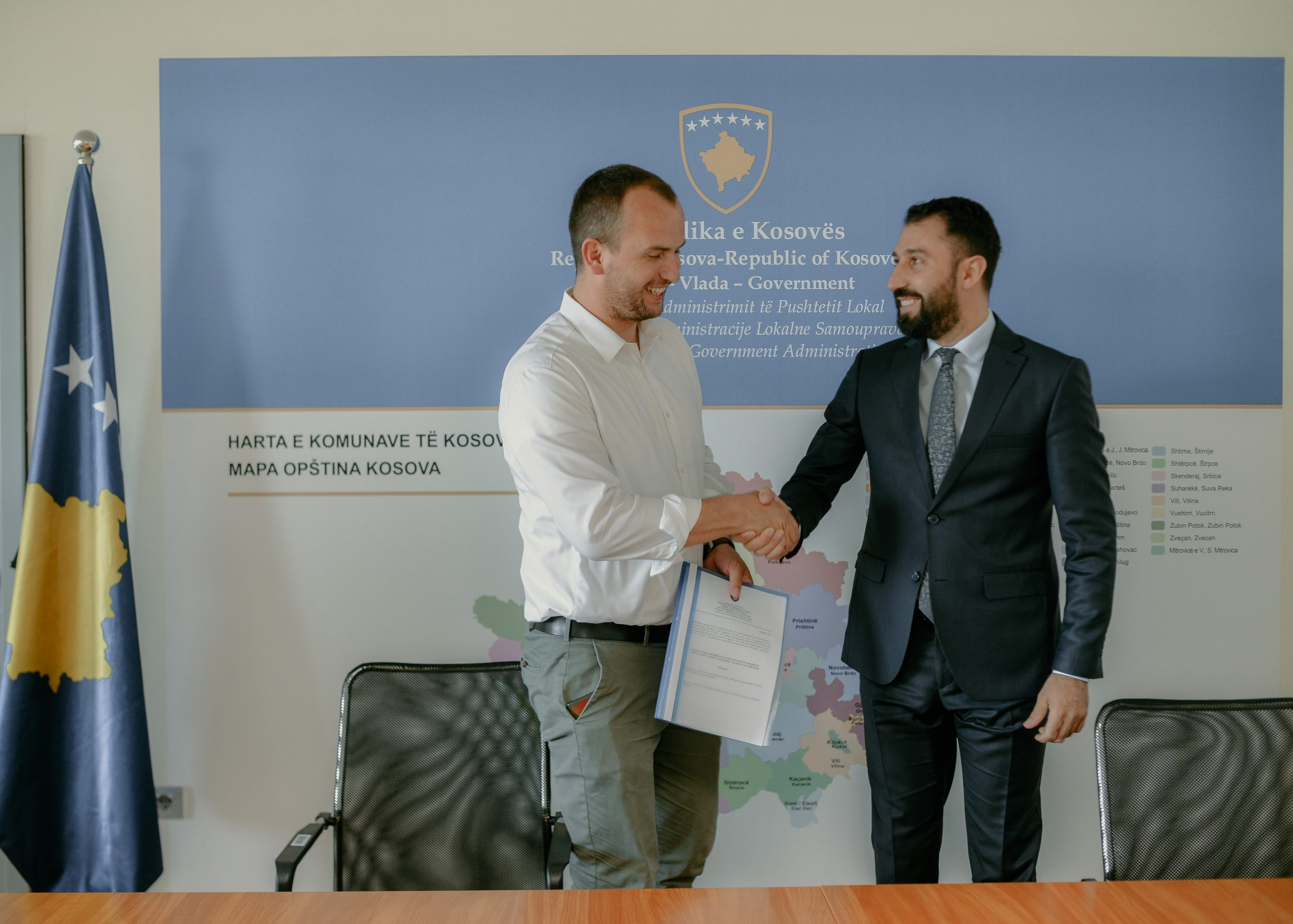 Kamenica and MLGA with agreement on the renovation of residential entrances
