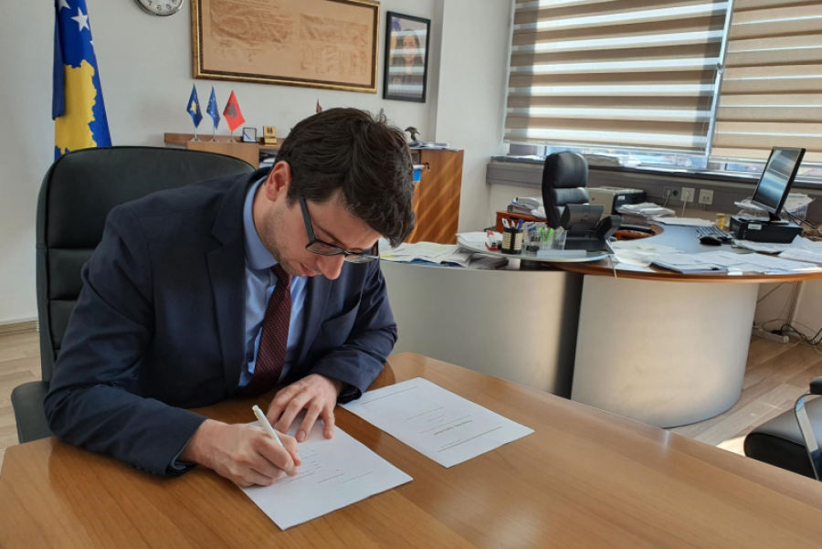 The agreement with the World Bank for additional financing of the Kosovo Emergency Project for COVID-19, has been signed
