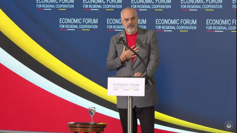 Rama in the Economic Forum: The region can no longer remain hostage to the past