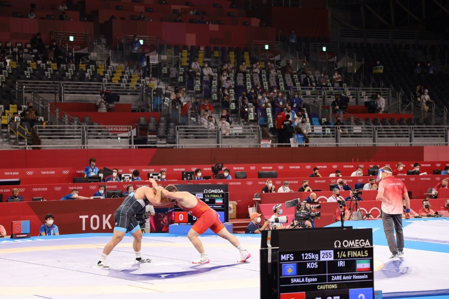 Egzon Shala is stopped the quarterfinals