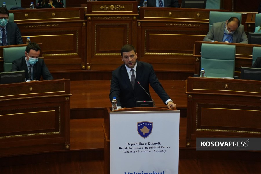 Krasniqi: The government has failed to manage the pandemic, they have allowed the parties and closed the schools