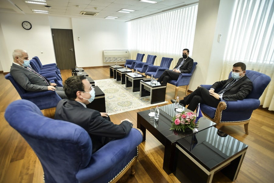 Kurti receives the leaders of the opposition parties